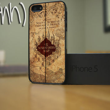 Harry Potter iPhone 5 Case Marauders Map
