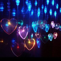 CIS-84072 Lovely Home Decoration Colorful LED String Lamp with 2.5Mx0.65M 298 Leds - AC110V China Wholesale - Everbuying.com
