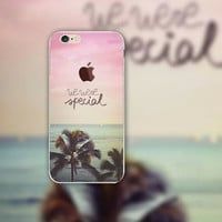 Seaside iPhone 5 5S iPhone 6 6S Plus creative case + Gift Box-126