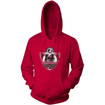 Alabama Crimson Tide 2011 BCS National Champions Crimson 14 And Counting Pullover Hoodie Sweatshirt - http://www.shareasale.com/m-pr.cfm?merchantID=7124&userID=1042934&productID=555867682 / Alabama Crimson Tide