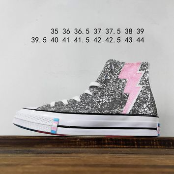 Kuyou Fa19630 Converse All Star Chuck 1970 pride Pack Ox High-tops Canvas Shoes