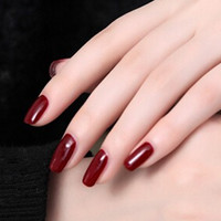 Dark Red Nail Polish # 22704