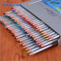 Marco Colored Pencils Pack of 24/36/48/72 Color Pencil Fine Art Drawing Oil Base Artist Sketching Colored Pencils Pack School Supplies