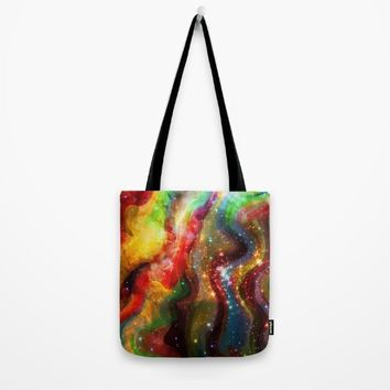 Bright Stones Tote Bag by Jeanette Rietz