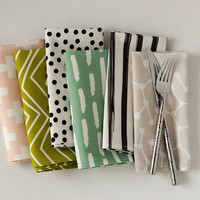 Assorted Cloth Dinner Napkin Set
