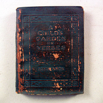 Little Leather Library Book Child's Verses Stevenson