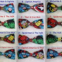 Marvel Bow Ties