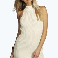 Mia Turtle Neck Knitted Dress