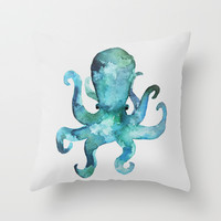 Earl Throw Pillow by Wobins