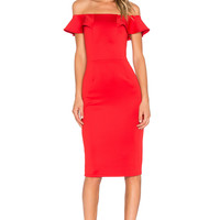 Yumi Kim Under Your Spell Dress in Rouge | REVOLVE