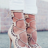 GILLIE BONE HEELS - WINDSORSMITH