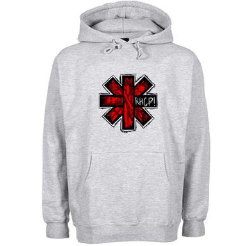 rhcp Hoodie Sweatshirt Sweater Shirt Gray and beauty variant color for Unisex size
