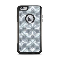 The Knitted Snowflake Fabric Pattern Apple iPhone 6 Plus Otterbox Commuter Case Skin Set