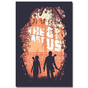 The Last of Us Silk Fabric Wall Poster Print Zombie Survival Horror Action TV Game Pitcures 12x18 20x30 24x36 inches 008