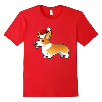 Cute Corgi Christmas Shirt - Christmas Gift For Dog Lovers