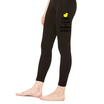 KEEP CALM AND RUBBER DUCKY - LEGGING