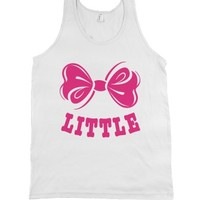 Big Sis Lil Sis Reveal Frat Tank - Sorority Bows - Little