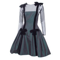 Oscar de la Renta Silk Taffeta Dress