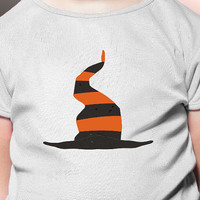 Halloween Witch Hat Iron on Transfer Shirt for your Pumpkin - Use for Artwork or Tshirt or Onesuit or Bag - Spooky gift or treat