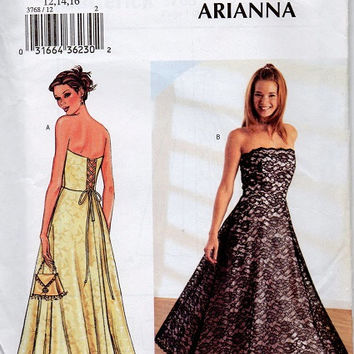 Butterick Sewing Pattern Formal Circle from Adele Bee Ann Sewing
