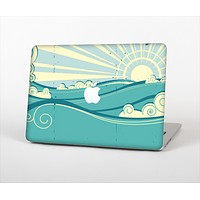 """The Retro Vintage Vector Waves Skin Set for the Apple MacBook Pro 13"""" with Retina Display"""