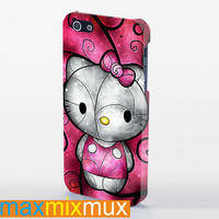 Hello Kitty iPhone 4/4S, 5/5S, 5C Series Full Wrap Case