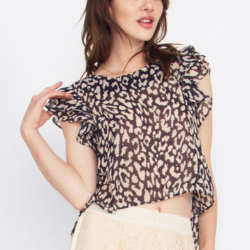 Wild Heart Flutter Top