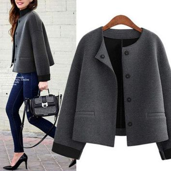 ac DCK83Q women coats dress plus size clothes XL -5XL [9928468940]