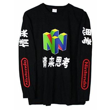 N64 Japanese Long Sleeve T Shirt