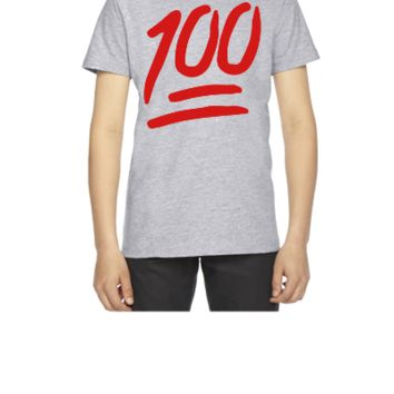 100 emoji - Youth T-shirt