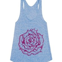 Gwetl Racerback Tank-Female Athletic Blue Tank