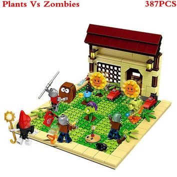Star Wars Force Episode 1 2 3 4 5 Plants vs Zombies Sunflower Struck Game Building Blocks Toys For Children Brinquedos Decool Super Heros  Figures XD59 AT_72_6