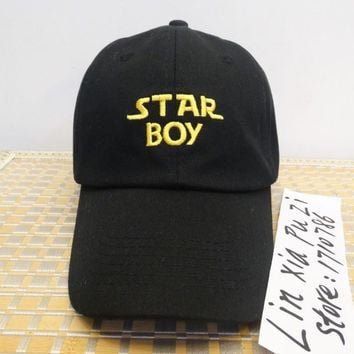RARE Star Boy Girl hat snapback Baseball Cap The Weeknd Xo Embroidered Dad Hat Drake Kanye West