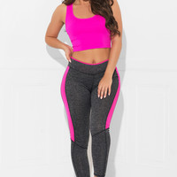 Work Out Tights Grey