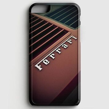 Red Ferrari iPhone 6 Plus/6S Plus Case | casescraft