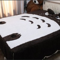 Cheap Price Huge Cute 2013 Models 180*200cm Totoro Bed Bedspread Quilting Birthday Gift