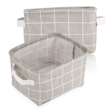 Foldable Convenient Geometric Storage Box laundry Basket Cosmetic Stationery Organizer Case Keep Home Table Tidy Decor