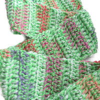 End of SEASON SALE - Soft Spring Scarf - Beautiful Easter / Springtime colors