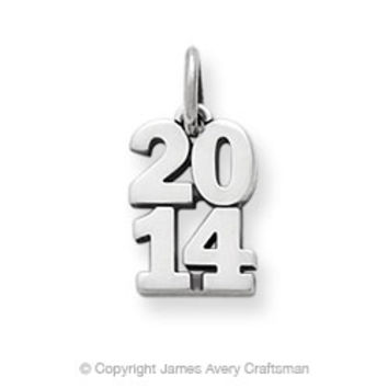 "Year ""2014"" Charm from James Avery"