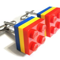 Art Class LEGO Tile Cufflinks by Cufflinks on Etsy
