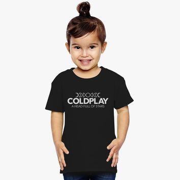 Coldplay - A Head Full Of Stars Toddler T-shirt