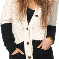 Obey Hyde Oversized Cardigan