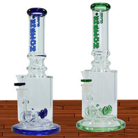 "11"" ZOMBIE GEAR PERCOLATOR INLINE WITH ICE CATCHER WATER PIPE -ZBG2"
