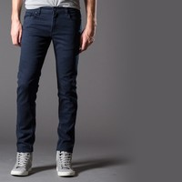 [Polychrom] Skinny Jeans in Navy Beans
