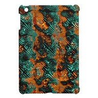 Fractal Art Fabric. Abstract Design. Cool, Awsome iPad Mini Case from Zazzle.com