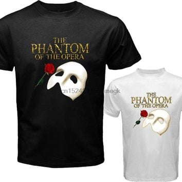 205dda16b New THE PHANTOM OF THE OPERA Broadway Musical Men s T-Shirt Tees