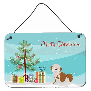Havanese Christmas Tree Wall or Door Hanging Prints CK3458DS812