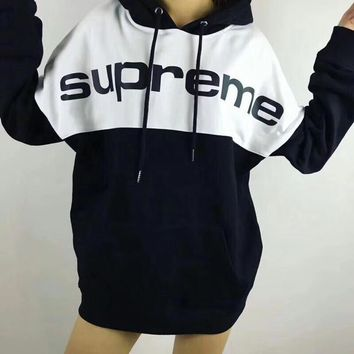 Winter Unisex Supreme Fashion Hip-hop Pullover Hoodies [16159211532]