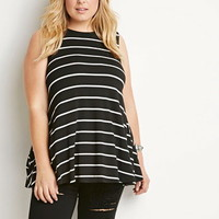 Striped Trapeze Tank