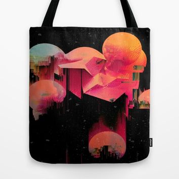 Beat Drop Tote Bag by Ducky B